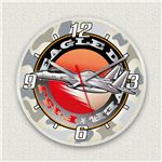 MYCLO壁掛け時計「F-15戦闘機」