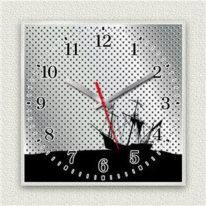 壁掛け時計/デザインクロック 【沈没船】 30cm角 アクリル素材 『MYCLO』 〔インテリア雑貨 贈り物 什器〕
