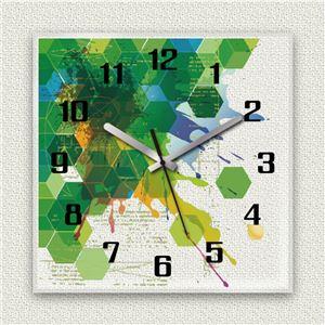 MYCLO壁掛け時計「ハニカム」