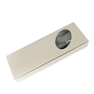 日本製 アクリルボールペン Marble Pen【クロスタイプ/芯:0.7mm】パールホワイト/White×Gray