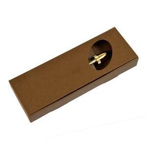日本製 Acrylic&Woodハンドメイドボールペン 【クロスタイプ/芯:0.7mm】パリサンダー ブルーラクーン