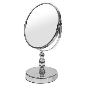 デスクミラー/卓上鏡 【幅18.5cm×奥行13cm×高さ28.5cm】 片面3倍拡大鏡