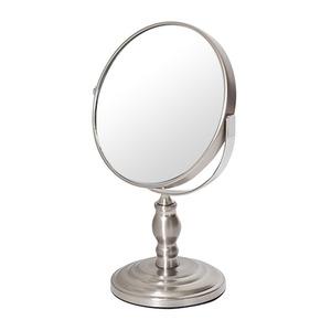 デスクミラー/卓上鏡 【幅16cm×奥行10.6cm×高さ25.4cm】 片面3倍拡大鏡の画像1