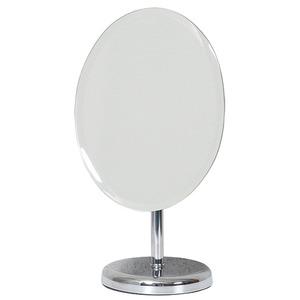 デスクミラー/卓上鏡 【幅20cm×奥行14cm×高さ35cm】 ミラー:5ミリ厚