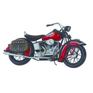 ブリキのおもちゃ置き物【バイク08】材質:鉄〔インテリアグッズディスプレイ雑貨〕