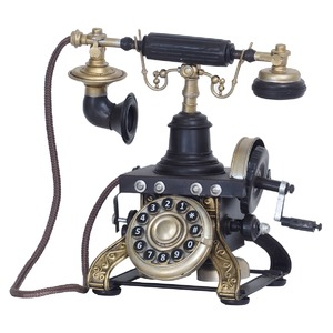 ブリキのおもちゃ 置き物 【電話01】 材質:鉄...の商品画像