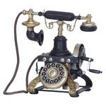 ブリキのおもちゃ 置き物 【電話01】 材質:鉄 〔インテリアグッズ ディスプレイ雑貨〕