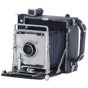 ブリキのおもちゃ置き物【カメラ01】材質:鉄〔インテリアグッズディスプレイ雑貨〕