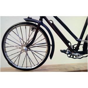 ブリキのおもちゃ 置き物 【自転車01】 材質...の紹介画像3