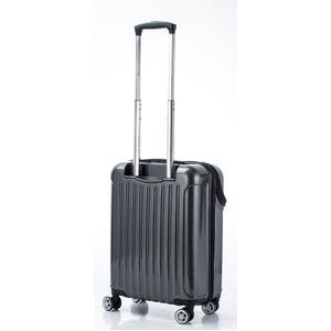 トップオープン スーツケース/キャリーバッグ 【ブラックカーボン】機内持ち込みサイズ 33L 『アクタス トップス』