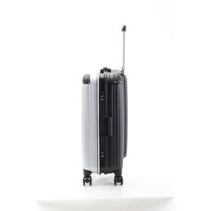 アクタス ツートンハードケース Lサイズ 74-20269 カーボンホワイト/ブラック