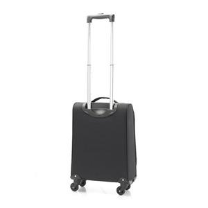 超軽量 ソフトキャリー/スーツケース 【機内持ち込みサイズ ブラック】 23L ファスナーポケット付 『アンドレリュックス』