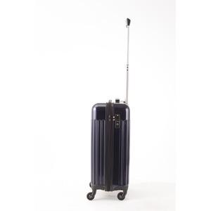 スーツケース/キャリーバッグ 【機内持ち込みサイズ ブルー】 32L 『マンハッタンエクスプレス ワーゲン』