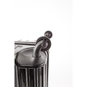 スーツケース/キャリーバッグ 【Mサイズ ブラック】 60L 『マンハッタンエクスプレス ワーゲン』