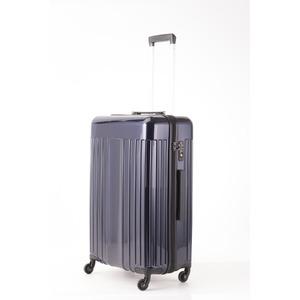 スーツケース/キャリーバッグ 【Mサイズ ブルー】 60L 『マンハッタンエクスプレス ワーゲン』