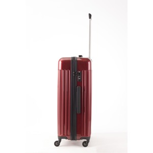 スーツケース/キャリーバッグ 【Mサイズ レッド】 60L 『マンハッタンエクスプレス ワーゲン』