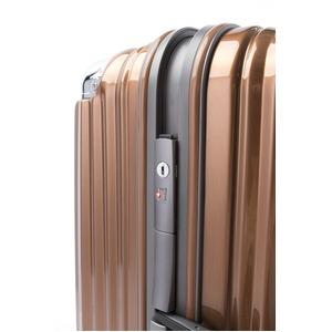 スーツケース/キャリーバッグ 【オレンジヘアライン】 Mサイズ 75L 『トラベリスト ストロークII』
