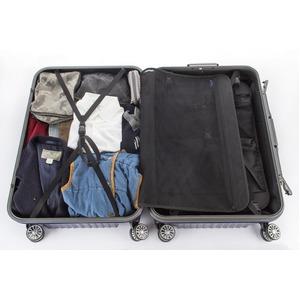 スーツケース/キャリーバッグ 【ブルーヘアライン】 Lサイズ 100L 『トラベリスト ストロークII』