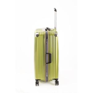 スーツケース/キャリーバッグ 【ライムヘアライン】 Lサイズ 100L 『トラベリスト ストロークII』