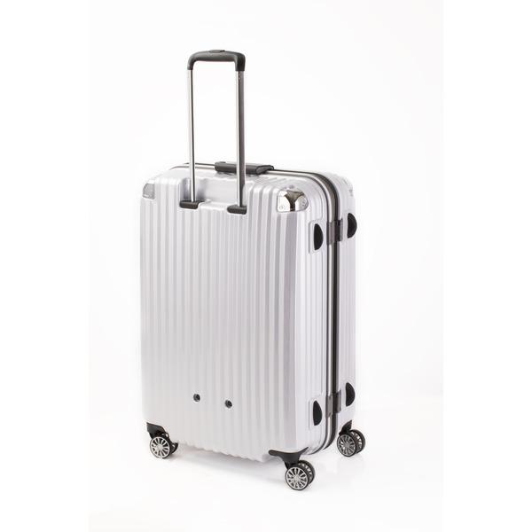 スーツケース/キャリーバッグ 【ホワイトヘアライン】 Lサイズ 100L 『トラベリスト ストロークII』