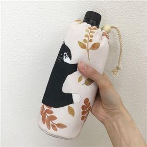 【3個セット】 アニマル柄 ボトルホルダー/ボトルカバー 【ネコ】 保冷タイプ 『puloose』