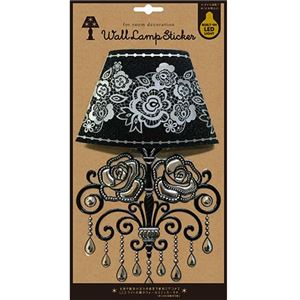 【6個セット】Wall Lamp Sticker Gothic-03 LS-G-03
