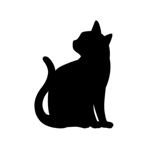 【2個セット】 CAT WALL LIGHT/LED照明 【3 ちら見】 音感センサー内蔵 自動消灯 - 拡大画像