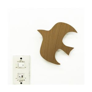 【2個セット】WOODY WALL LIGHT (2)BIRD TL-WWL-02