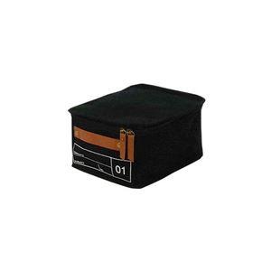 【2個セット】モック キャンバスストレージ01 ブラック MOC-CV01-BK