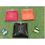ビオラ用防雨レインカバー (三角型 シェル型用)【赤、黒、オレンジ各1個計3個セット】