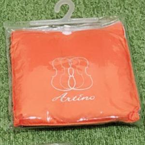 バイオリン防雨レインカバー (角型 四角 オブロング型用)「色:オレンジ」「RC-418」