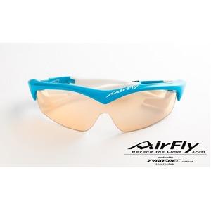 AirFly(エアフライ)ノーズパッドレススポーツサングラス ユニセックス スカイブルー AF-201 C5