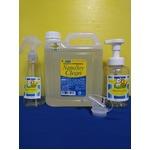 ナノソイクリーン ペットシャンプー 2Lボトル(スプレーボトル& 泡ポンプボトルの2種ボトル付き)