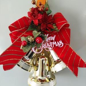 クリスマスベルハンガー レッド
