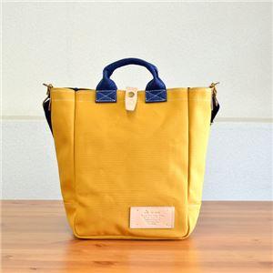 leonde4号帆布トートバッグ/M.レッド【日本製】