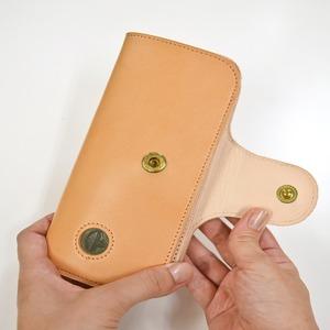 Ritonモレッティレザー財布/ナチュラル(日本製)