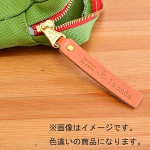 le ondeボックスポーチ/ネイビー(日本製)