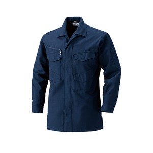 村上被服製 サージ素材の作業着 2301シャツ 濃紺(のうこん)5Lサイズ