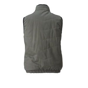村上被服製 6299 ソフト綿素材・保温裏アルミ 防寒ベスト ブラック 3L