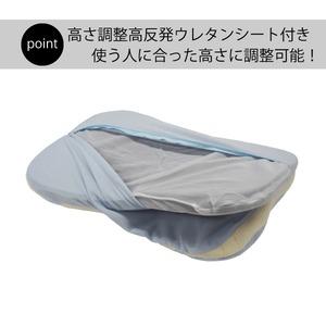 医学博士考案 純炭入り 健康まくら 枕/まくら 【 洗えるパイプ+高反発】