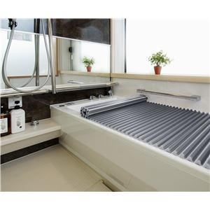 抗菌 Agイージーウェーブ 風呂ふた M14 70×140cm用