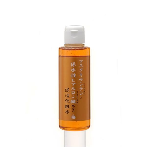 アスタキサンチンと保水性ヒアルロン酸配合の保湿化粧水