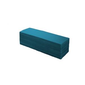 6つ折りマットレス/寝具【SSセミシングルサイズ】幅80×長さ180cm薄型厚み40mm高密度ウレタンフォーム藍色