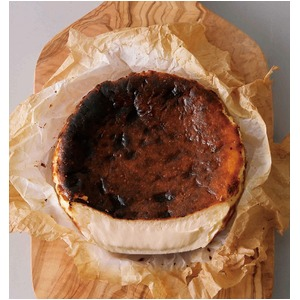 北海道焦がし濃厚バスクチーズケーキ/スイーツ【1個】4号(φ12cm)冷凍保存