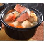 石狩鍋/ひとり鍋 【36入】 鮭・かに入りつみれ・帆立等 冷凍90日 『北海道 小樽の小鍋』 〔家庭用 贈りもの〕