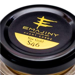 EMAJINY ヘアカラーワックス Sax Gold S46