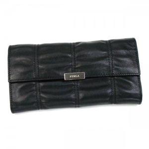 Furla(フルラ) 長財布  PK40 O60 ブラック H10.5×W19×D3