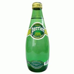 ミネラルウォーター ペリエ 330ml 瓶(×24) - 拡大画像