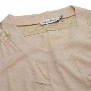 SEE BY CHLOE(シーバイクロエ) レディースTシャツ  495801 M06 ピンク L55 S7 W42 SH36