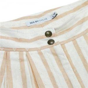 SEE BY CHLOE(シーバイクロエ) レディーススカート  G43500 98 ピンク L46 WA66 H96